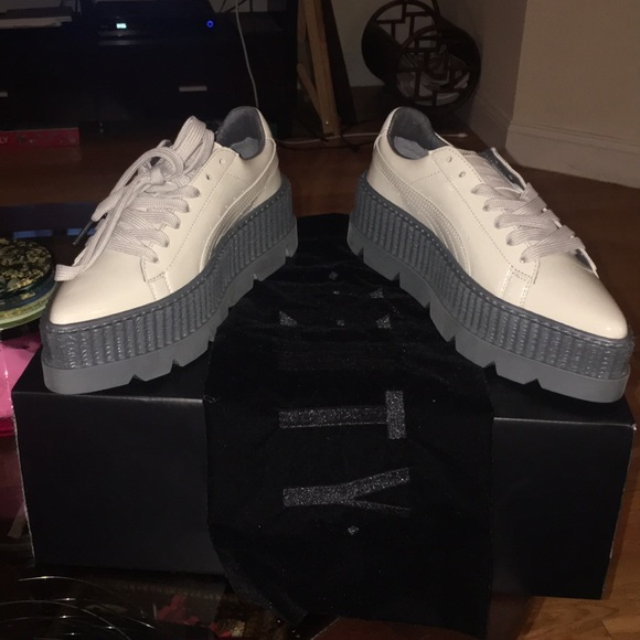 buy online 173e7 8a83e BRAND NEW Fenty Patent Leather Pointy Creeper NWT
